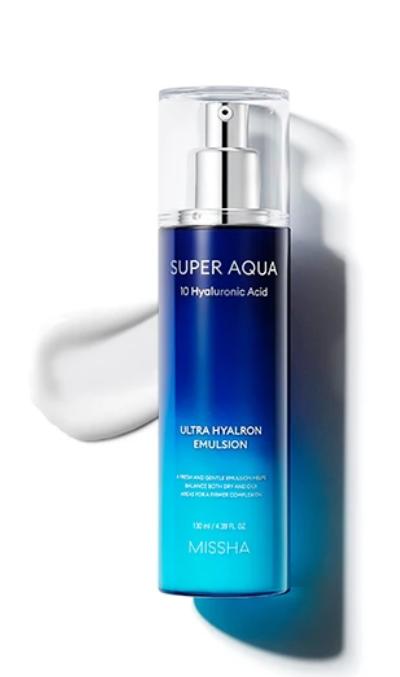 Tratamento Super Aqua Ultra Hyalron Emulsion - Missha