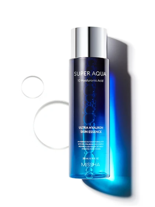Tratamento Super Aqua Ultra Hyalron Skin Essence (Essence in Toner) - Missha
