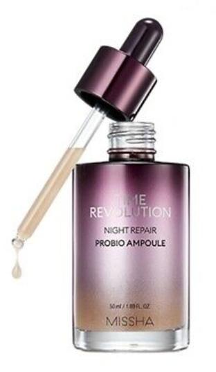 Tratamento Time Revolution Night Repair Revolution Probio Ampoule - Missha