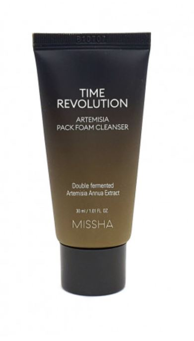 Travel Size Time Revolution Artemisia Pack Foam Cleanser - Missha