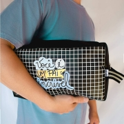 Bolsa Bag Porta Chuteira Couro Dia dos Pais