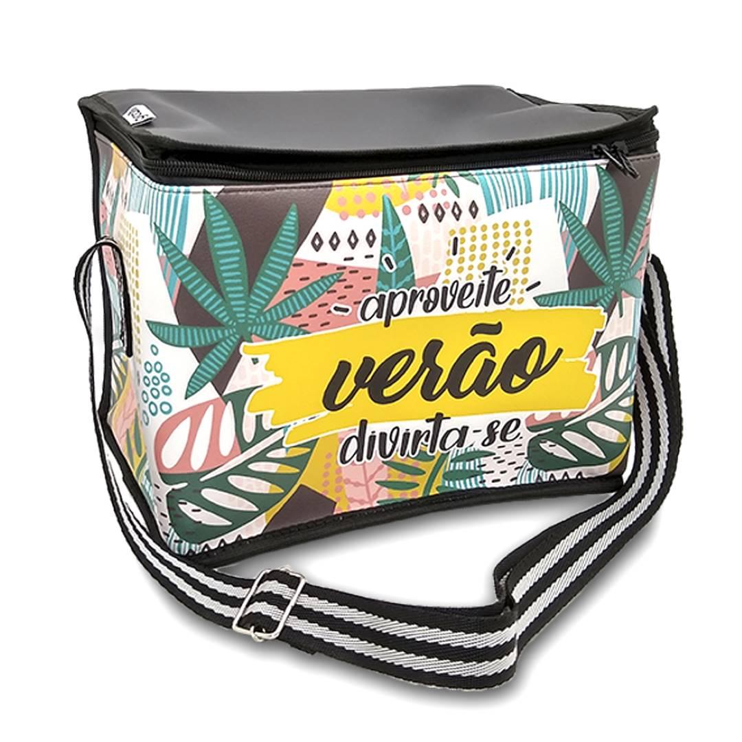 Bolsa Cooler Térmica 6L Tropical Verão