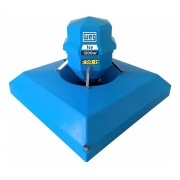 Aerador para oxigenação 1 cv motor weg  1200m2 monofásico 110 ou 220V