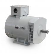Alternador Toyama TA38.0CT2-380 Trifásico 38.0 KVA 380V-60Hz 4 polos sem painel