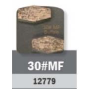 Conjunto Abrasivo Buffalo Hex 30# P/ Politriz BF 2800 C/ 3UN cód 12779