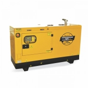 Gerador Buffalo BFDE 12000 Silencioso Monofásico Com Ats / Bateria Part Elétrica 72239 (a Diesel, Refrigerado A Água)