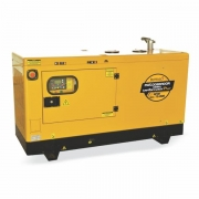 Gerador Buffalo BFDE 15000 Silencioso Trifásico 380v Com Ats / Bateria Part Elétrica 72235 (a Diesel, Refrigerado a Água)