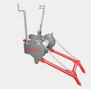Guincho 5 Ton. p Trator com 50m cabo de aço 3 8