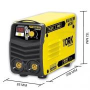Inversora de Solda MMA + TIG LIFT - KAB150 -  150 Amperes  Bivolt
