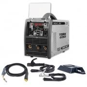 Inversora de Solda Multiprocessos MIG S + MIG DOUBLE PULSE + MMA - TOUCH 250S-DP - 250 Amperes -5/20 KGS