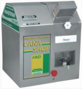 Moenda CANA SHOP 140 , 3 rolos INOX , chave de reversão, motor 1,0 cv monofásico