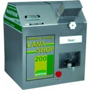 Moenda Moenda CANA SHOP 200 - 3 rolos e eixos INOX c/ chave de reversão, 2cv