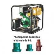 Motobomba Buffalo BFDE 2.1/2x2 Centrifuga (m 7.0cv) Part. Elétrica 70716 (a Diesel)