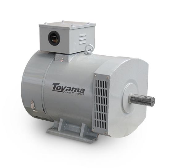 Alternador Toyama TA10.5CT2 Trifásico 10.5 KVA 115/230V-60Hz 4 polos sem painel
