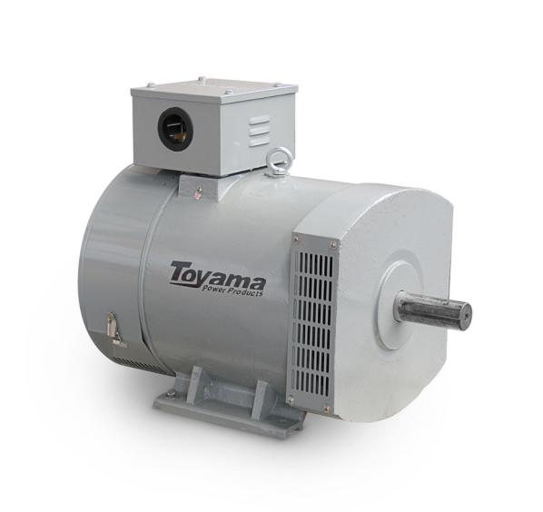 Alternador Toyama TA12.5CT2 Trifásico 12.9 KVA 115/230V-60Hz 4 polos sem painel