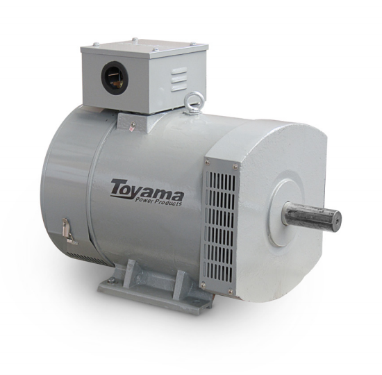 Alternador Toyama TA15.0CT2 Trifásico 15.5 KVA 115/230V-60Hz 4 polos sem painel