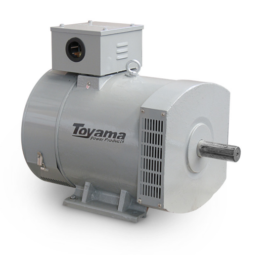 Alternador Toyama TA17.5CT2 Trifásico 19.4 KVA 115/230V-60Hz 4 polos sem painel