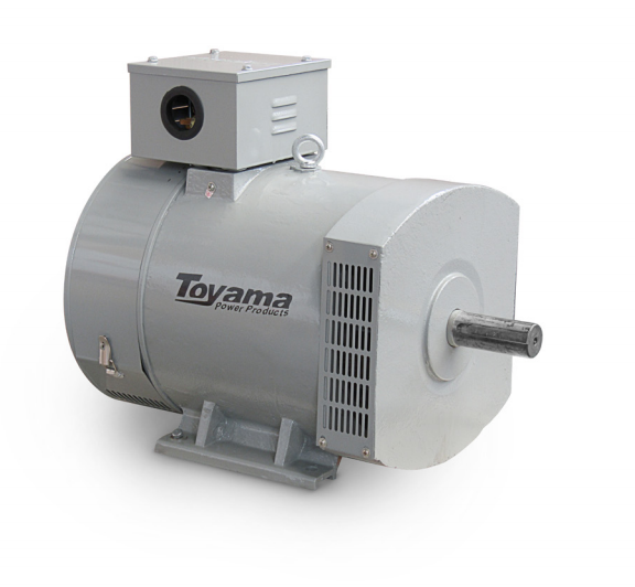 Alternador Toyama TA20.0CT2 Trifásico 21.6 KVA 115/230V-60Hz 4 polos sem painel