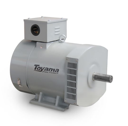 Alternador Toyama TA30.0CS2 Monofásico 30.0KW Max. 115/230V-60Hz 4 polos sem pai