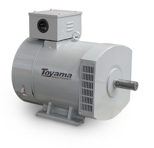 Alternador Toyama TA3.5CS2 Monofásico 3.5KW Max. 115/230V-60Hz 4 polos sem paine