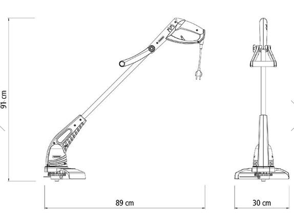 Aparador de Grama Tramontina AP1000T 127V 79634102 (Elétrico)
