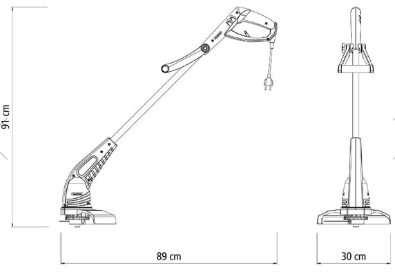 Aparador de Grama Tramontina AP1500T 127V 79634152 (Elétrico)