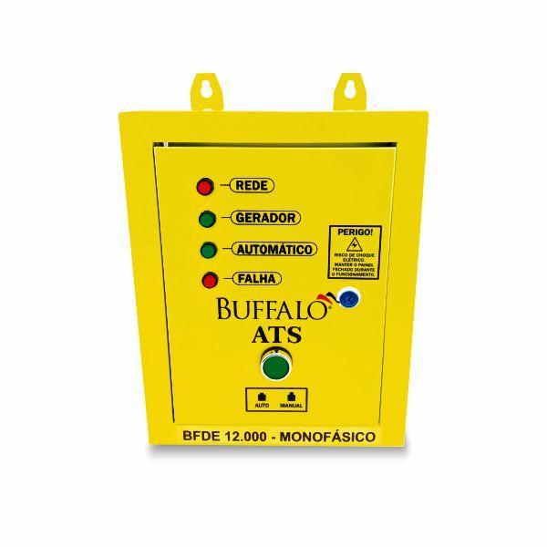 ATS Monofásico Buffalo Para Geradores BFDE 12000 Cod 12411
