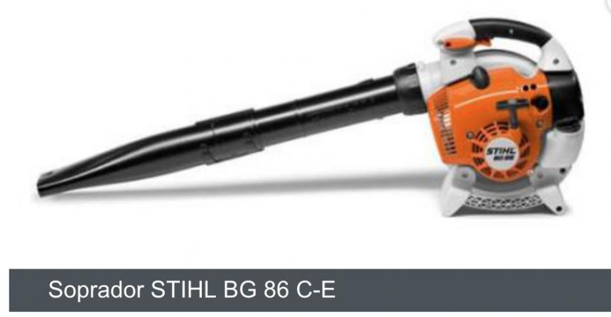 Soprador Stihl BG 86 C-E