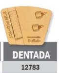 Conjunto Abrasivo Buffalo Dentada P/ Politriz BF 2800 C/ 3UN cód 12783