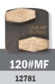 Conjunto Abrasivo Buffalo Hex 120# P/ Politriz BF 2800 C/ 3UN cód 12781