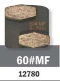 Conjunto Abrasivo Buffalo Hex 60# P/ Politriz BF 2800 C/ 3UN cód 12780