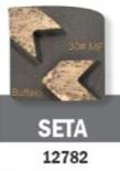 Conjunto Abrasivo Buffalo Seta 30# P/ Politriz BF 2800 C/ 3UN cód 12782