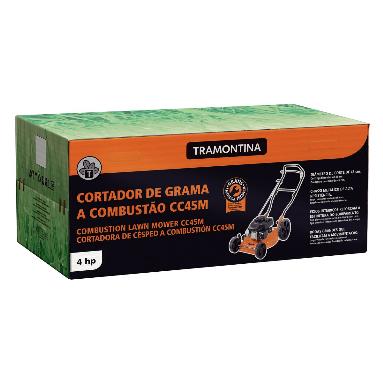 Cortador de Grama Tramontina CC45M C/ Saida Lateral / Motor 2 hp 79747401 (a Gasolina)