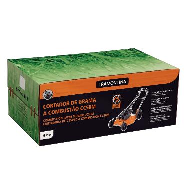 Cortador de Grama Tramontina CC50M C/ Saida Lateral / Motor 6 hp 79762601 (a Gasolina)