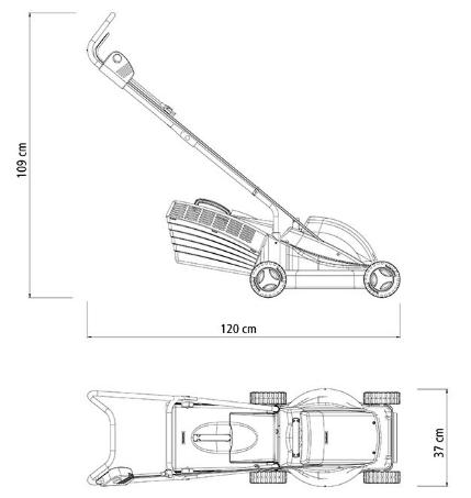 Cortador de Grama Tramontina CE35M2 C/ Coletor 1300W / 220V 79659151 (Elétrico)
