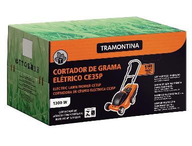 Cortador de Grama Tramontina CE35P C/ Coletor 1300W / 127V 79661150 (Elétrico)