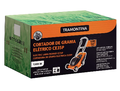 Cortador de Grama Tramontina CE35P C/ Coletor 1300W / 220V 79661151 (Elétrico)