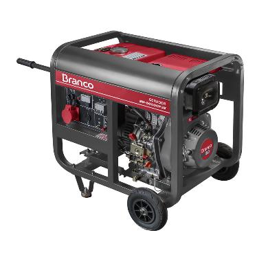 Gerador Branco BD 6500 E3 Trifásico 220v Part. Elétrica 90313703 (a Diesel)