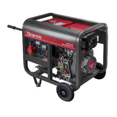 Gerador Branco BD 6500 E3 Trifásico 380v Part. Elétrica 90304443 (a Diesel)