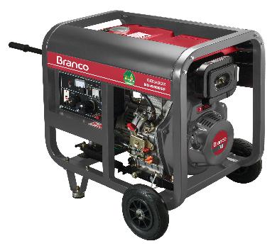 Gerador Branco BD 8000 EF Monofásico Part. Elétrica 90314593 (a Diesel)