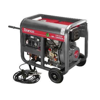 Gerador Branco BD W190 E Solda Part. Elétrica 90304433 (a Diesel)