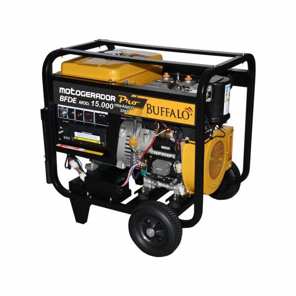 Gerador Buffalo BFDE 15000 Pro STD Trifásico 220V Part. Elétrica 72139 (a Diesel)