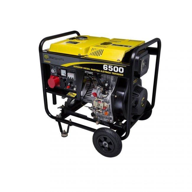 Gerador Diesel 6500 P.E. Trifásico 220V