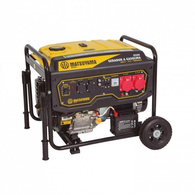 Gerador Gasolina 8500 127/220V-T Pe