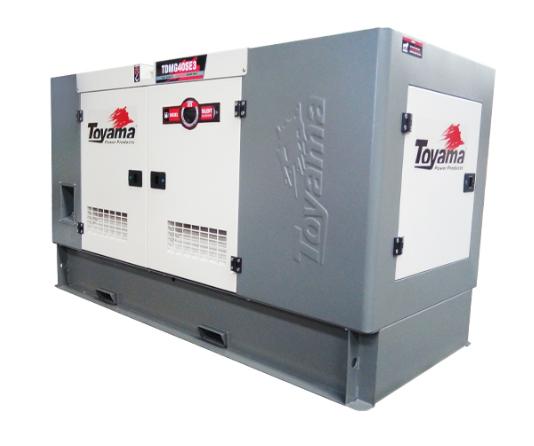 Gerador Toyama TDMG40SE3 Diesel Refrig. Água Trifásico 220V  40KVA Sil. cabinado