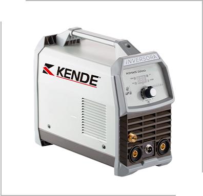 Inversora de Solda KENDE TIG KDWS-200 MONO MGL 220V 22A - 180A
