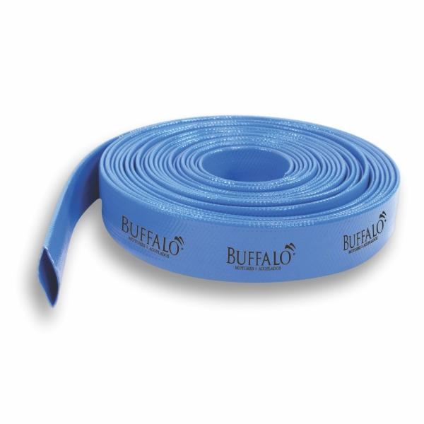 Mangueira Buffalo Chata / Flexível PVC 1,5