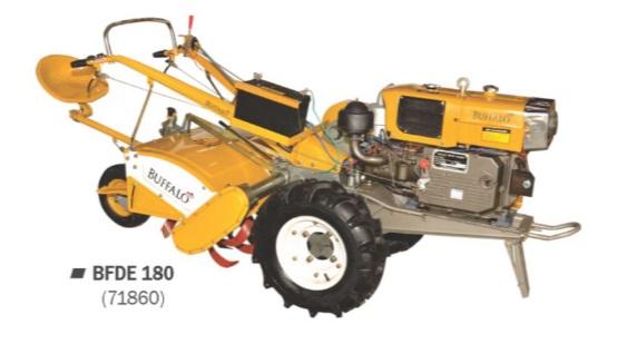 Microtrator Buffalo BFDE 180 (M. 18.0cv) Part. Elétrica 71860 (a Diesel, Refrigerado a Água)