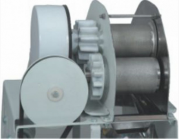 Moenda CANA EXPRESS - 2 rolos e eixos INOX, chave de reversão, motor 1/2 cv mono