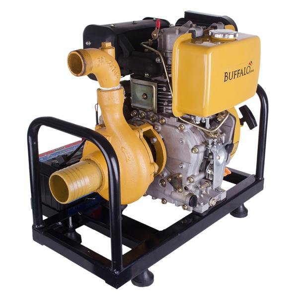 Motobomba Buffalo BFD 3x2 Centrifuga (M. 10cv) Part. Manual 71013 (a Diesel)